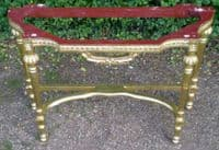 Gilt Framed Console Table / Stand